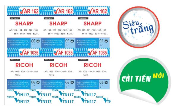 Thiết kế và in ấn các loại tem nhãn