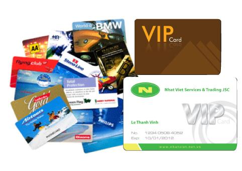 Thiết kế in thẻ Vip, thẻ nhân viên